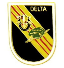 """MidMil Army Special Forces """"Delta"""" Force Pin 1"""""""