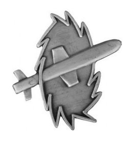 """MidMil Navy Missile Technician Rating Pin 1 3/8"""""""
