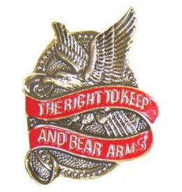 MidMil The Right to Keep and Bear Arms Pin 1 1/4""