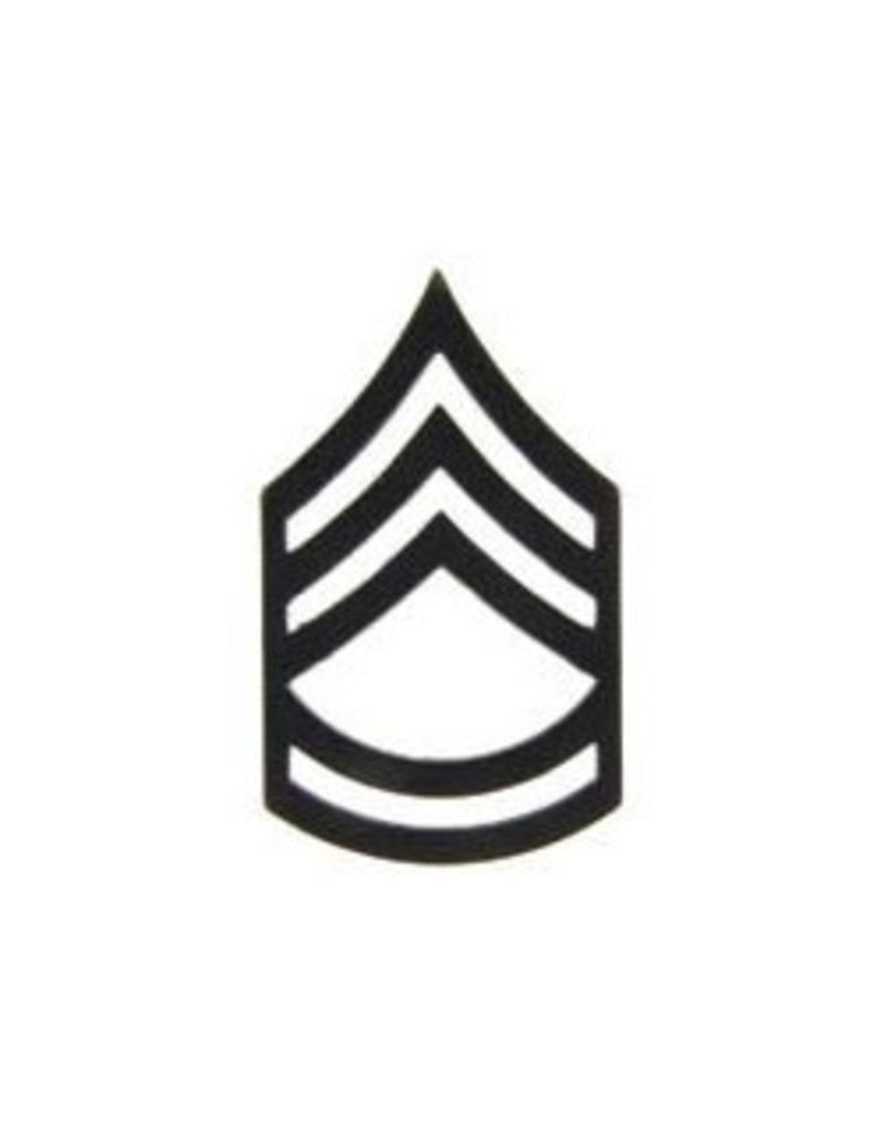 MidMil Army Sergeant First Class (E7) Subdued Rank Pin 1