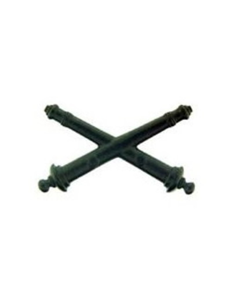 """MidMil Army Artillery Insignia Subdued Pin 1 1/2"""""""