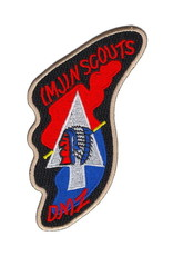 "MidMil Patch Army Inf 2nd Div Imjin Scouts DMZ Emb 2.5""x4.25"""