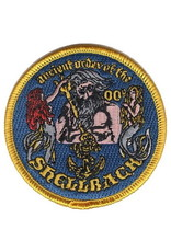 "MidMil Patch Navy Shellback Poseidon and Mermaids 3"""