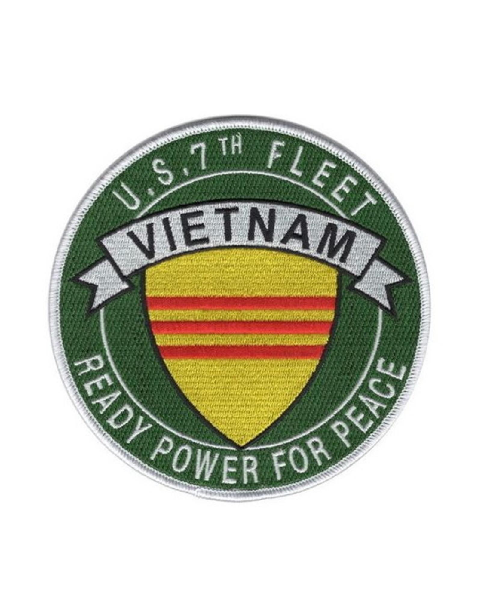"""MidMil Patch Vietnam Navy Fleet 7th 5"""""""