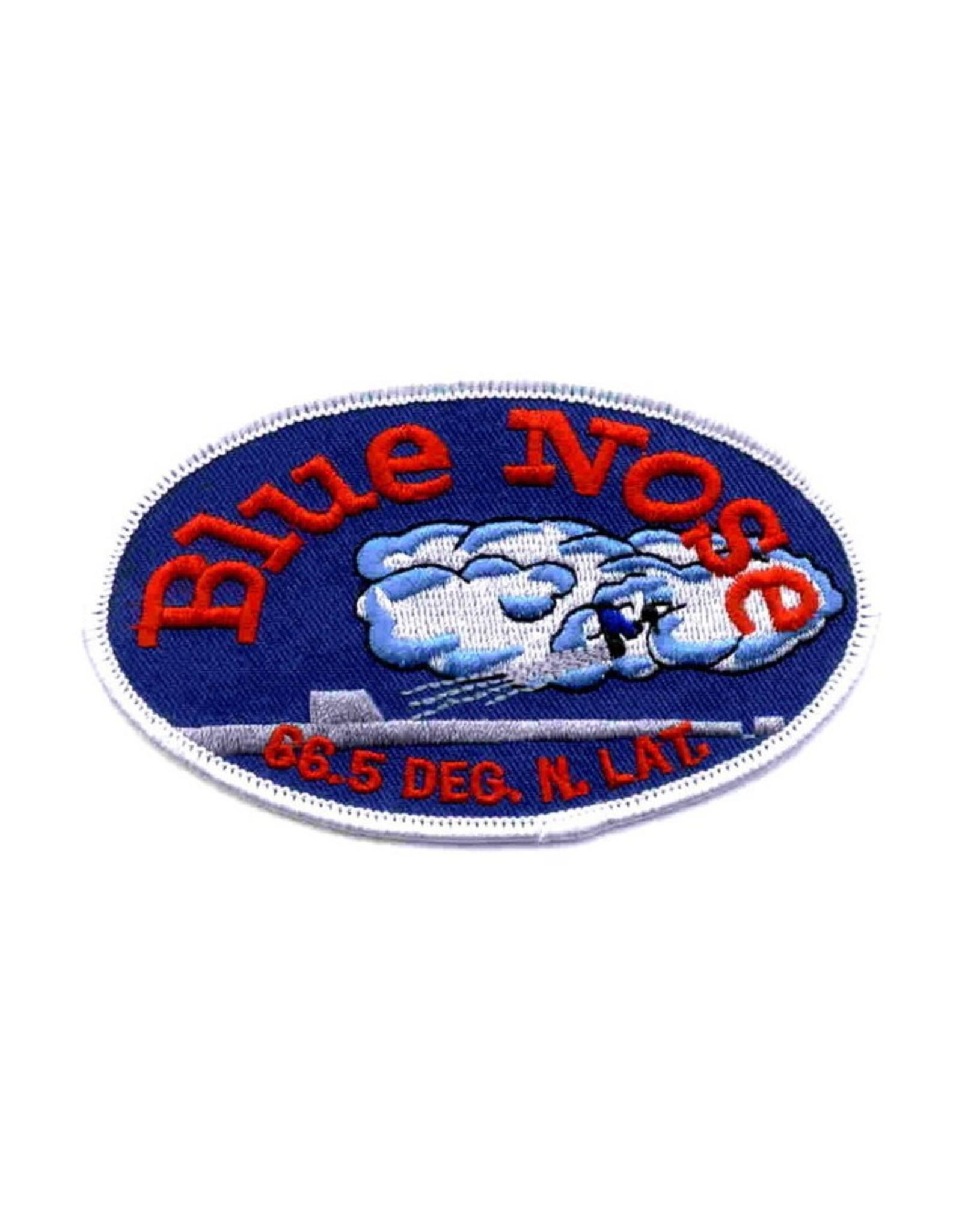 """MidMil Patch Navy Bluenose Oval 4""""x2"""""""