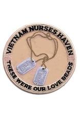 "MidMil Patch Vietnam Nurse Haven ..Love Beads.. 4"""
