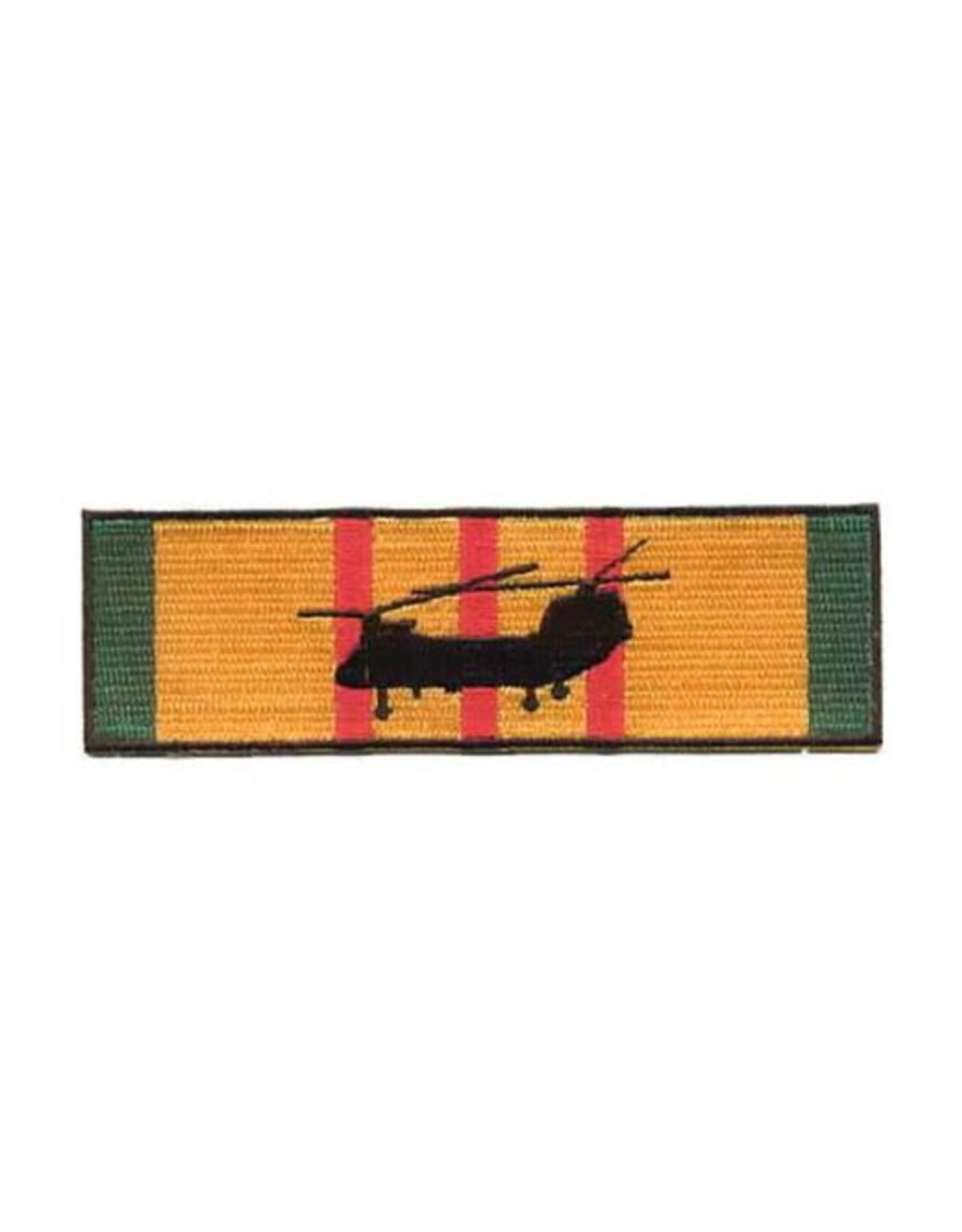 "MidMil Patch Vietnam Heli CH-46 Sea King Diving on Service Ribbon 4.5""x1.38"""