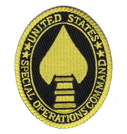 """MidMil Patch Special Operations Cmd 2.5""""x3.5"""""""