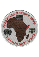 MidMil Patch Cold War Somalia (East Africa) Oper Restore Hope 4""