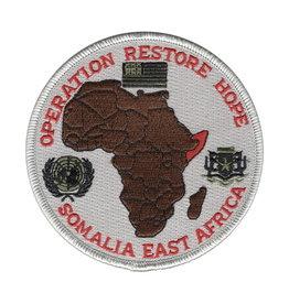 "MidMil Patch Cold War Somalia (East Africa) Oper Restore Hope 4"""