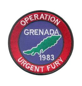 "MidMil Patch Cold War Grenada Operation Urgent Fury 4"""