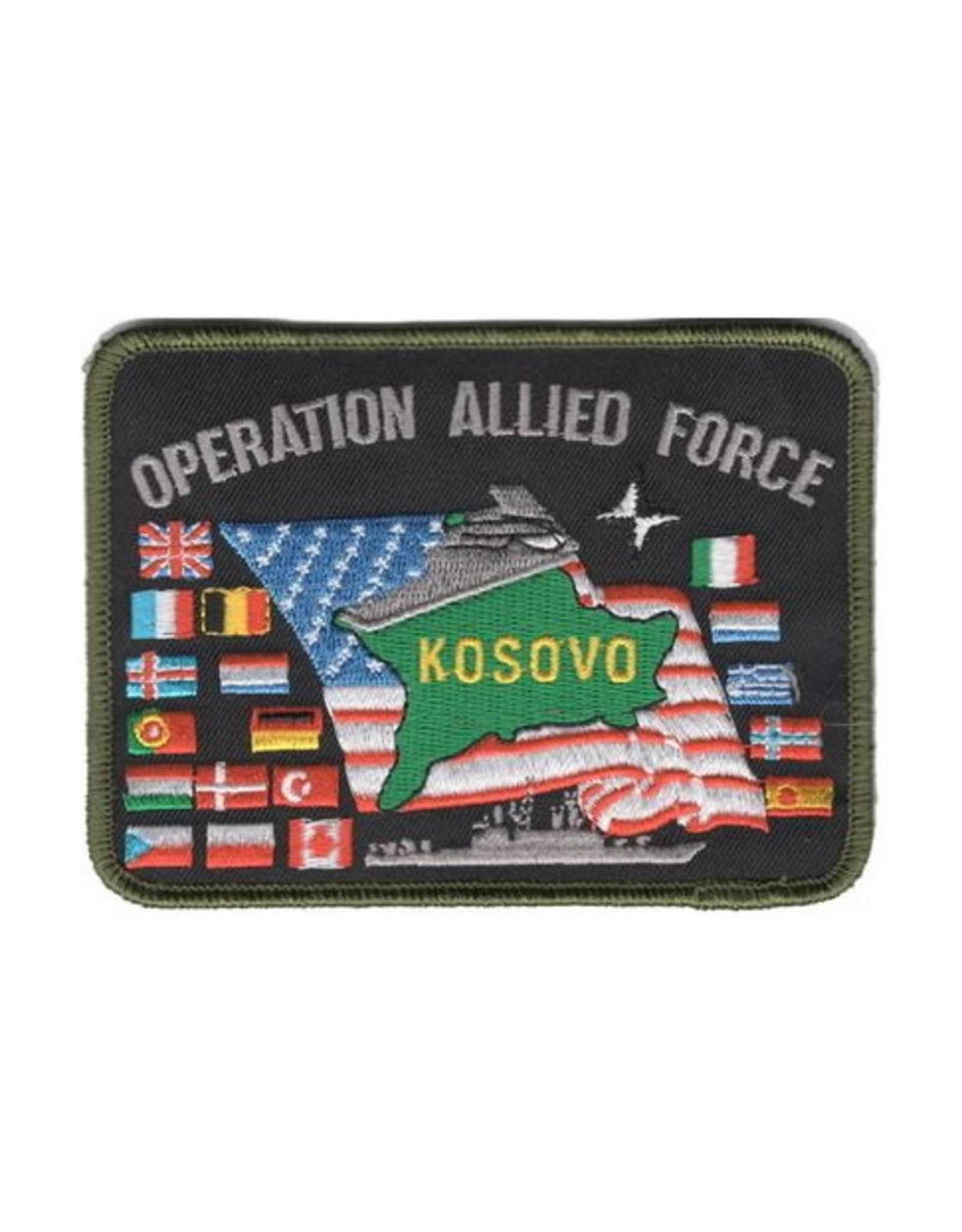"""MidMil Patch Kosovo Operation Allied Force 4.75""""x3.5"""""""