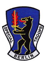 "MidMil Patch Army Cmd Berlin Bear 3""x4"""