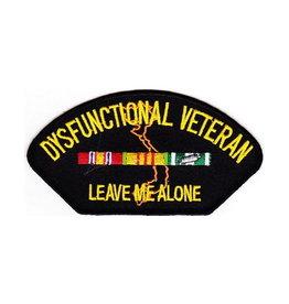 """MidMil Patch Vietnam Dysfunctional Vet """"H"""" 5""""x2.75"""""""