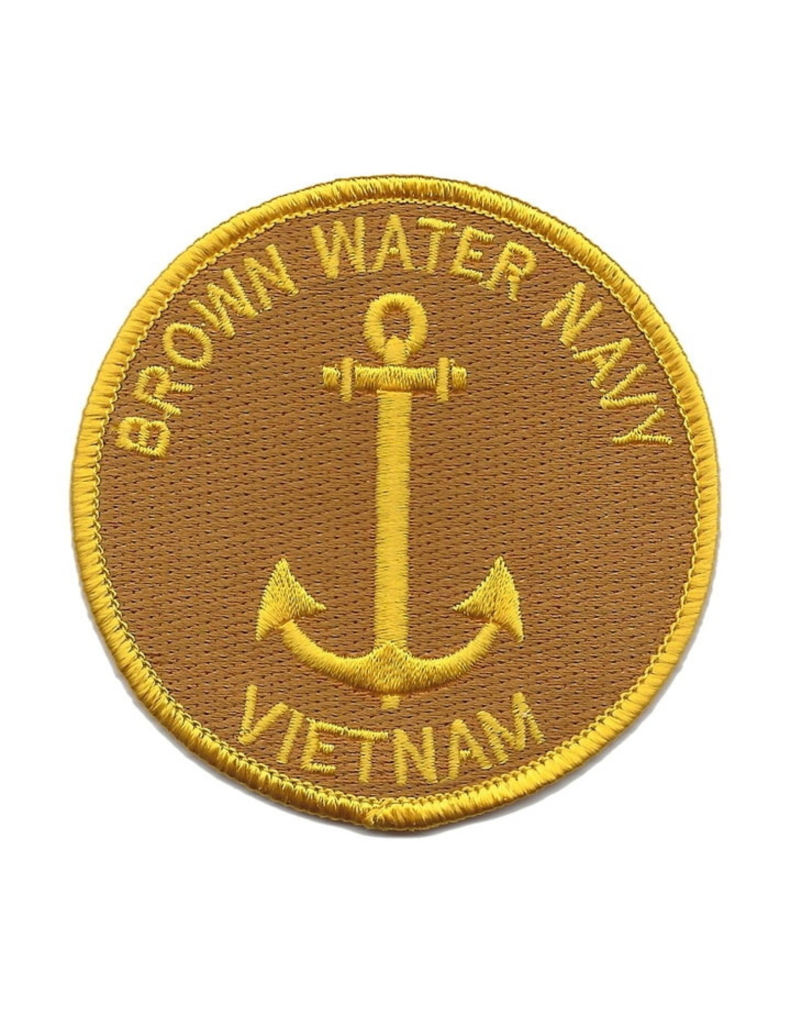"""MidMil Embroidered Brown Water Navy Vietnam Patch 3"""""""