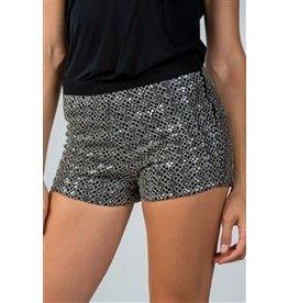 Sequin Mini Shorts