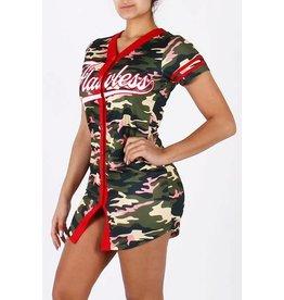 Flawless Camo Baseball Jersey