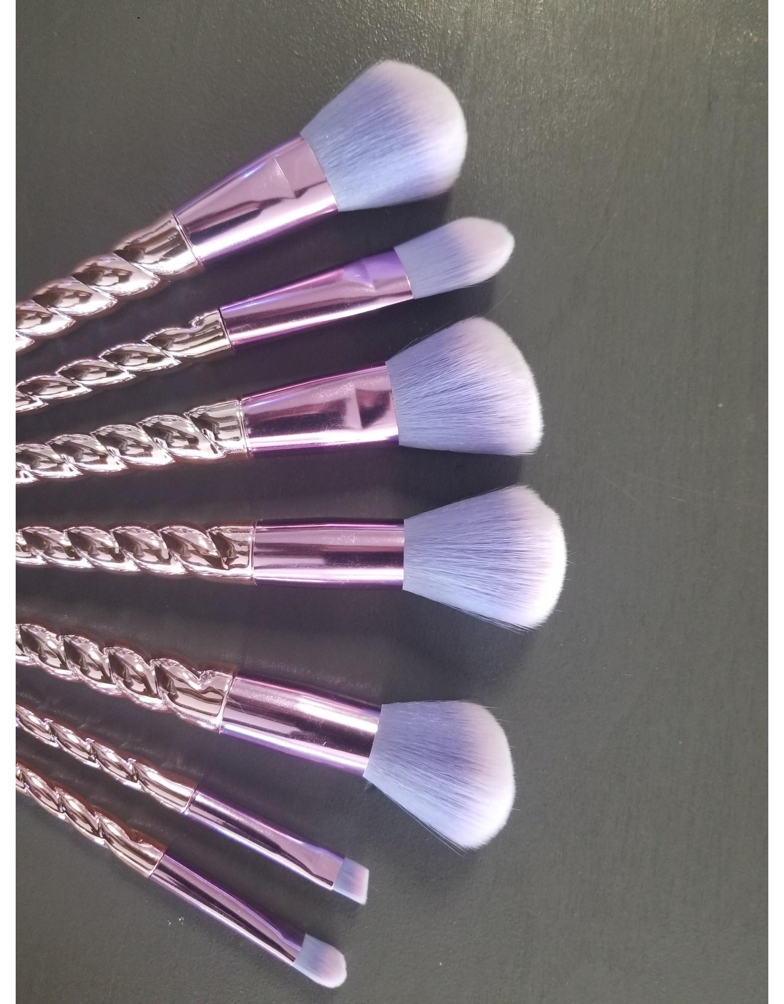 Purple Makeup Brush Set Lynda Lou