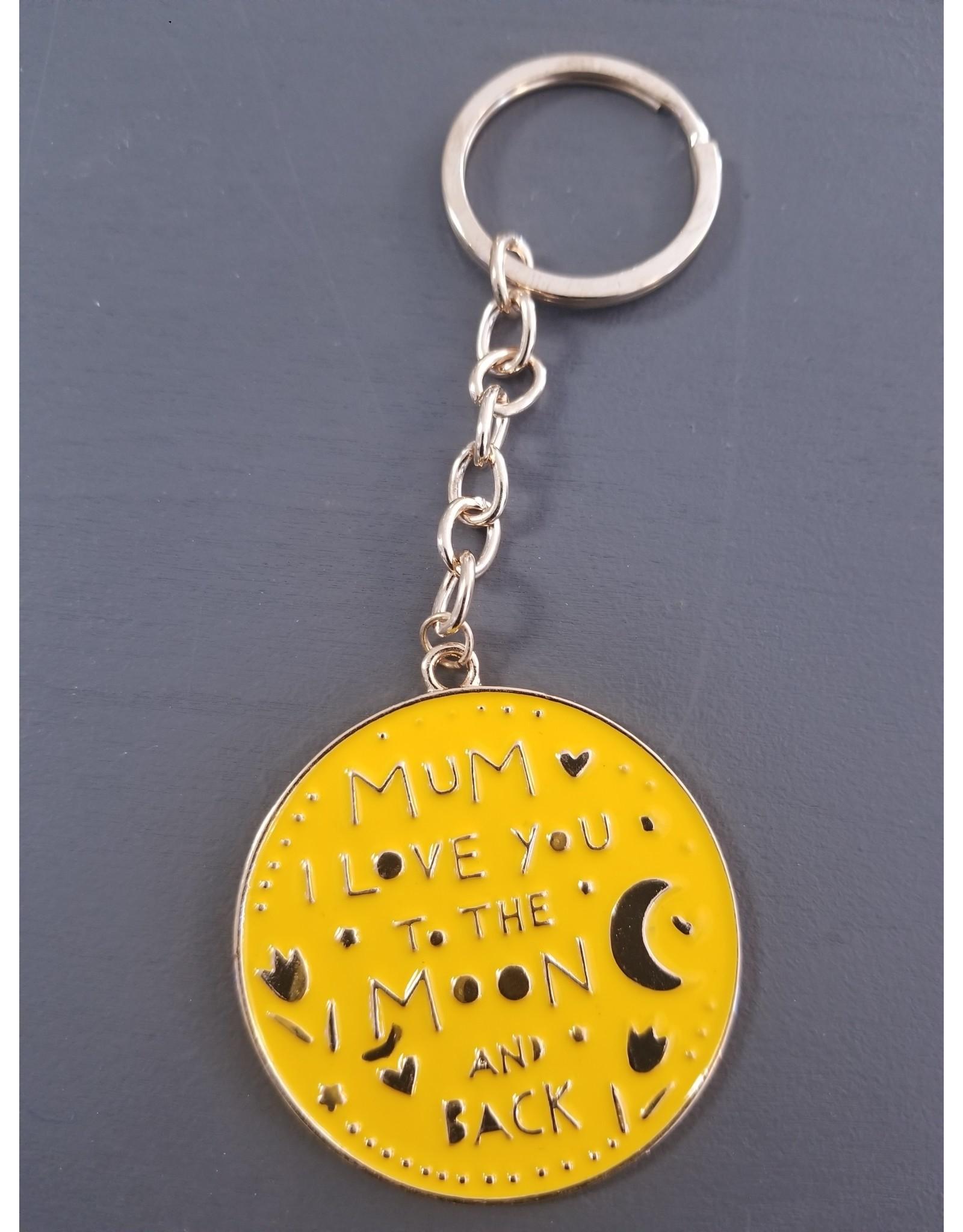 I Love Mum Keychain