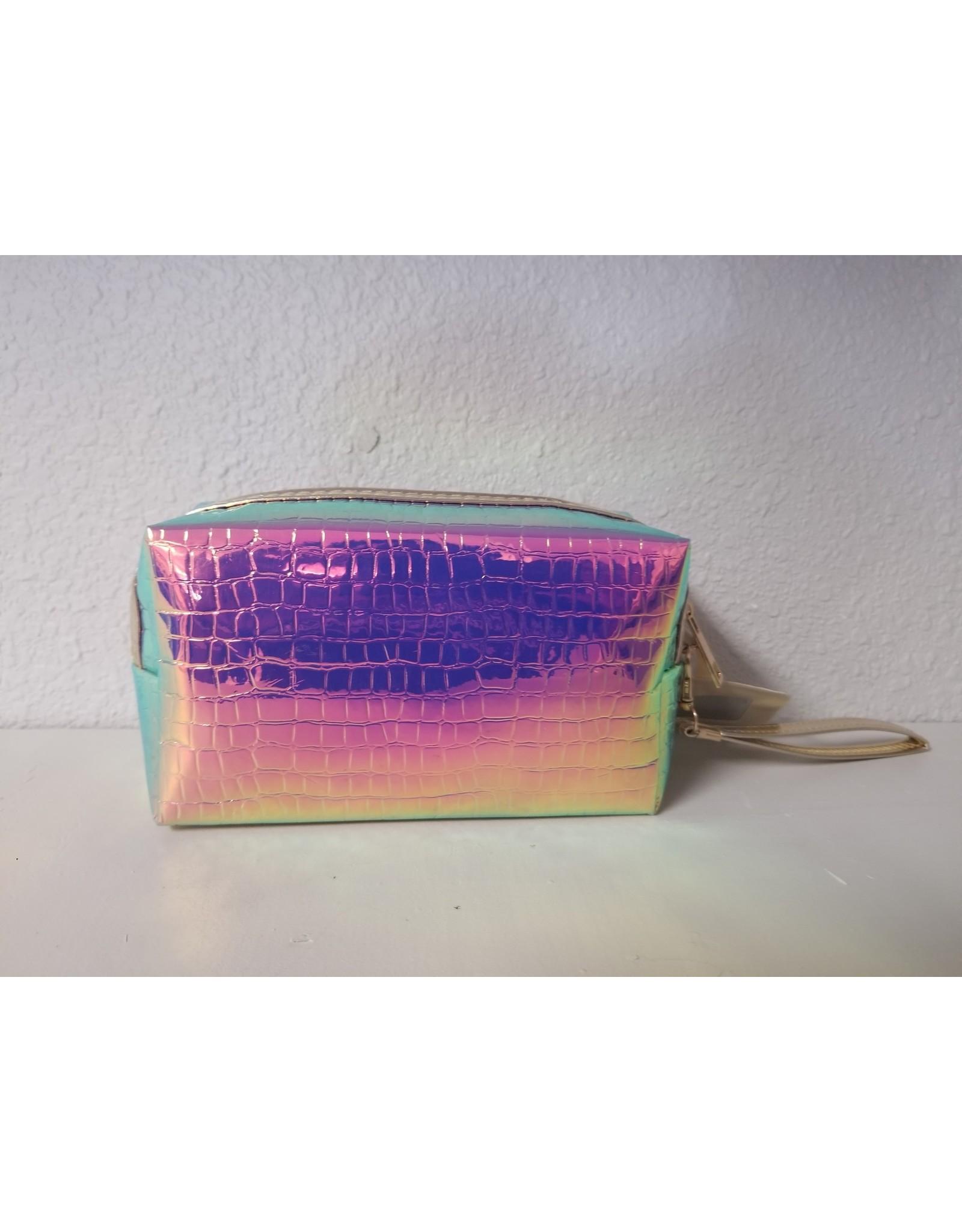 Hologram Makeup Bag with Mirror