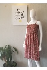 Dusty Rose Floral Cami Dress