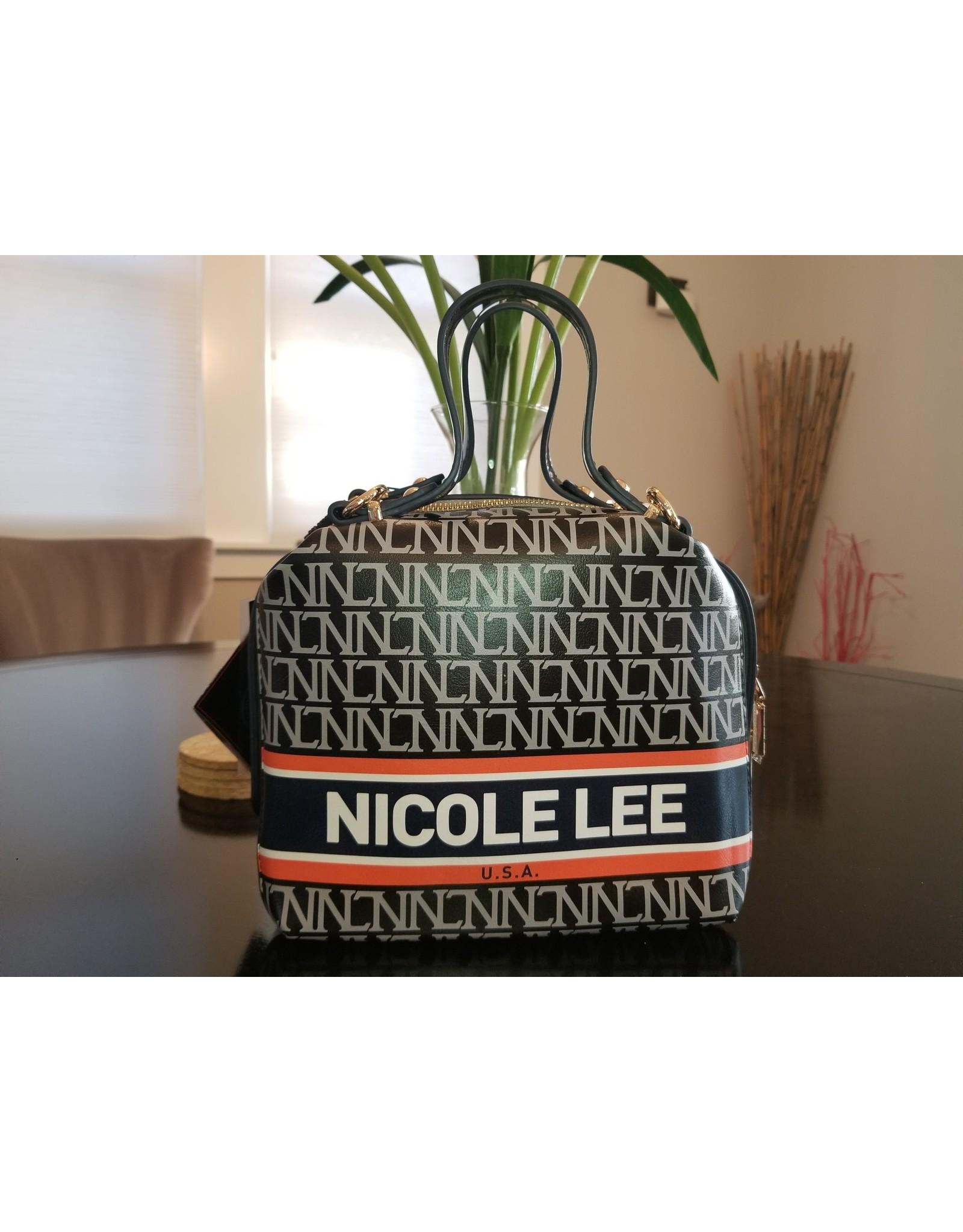 Nicole Lee MONOGRAMMED SMALL HANDBAG