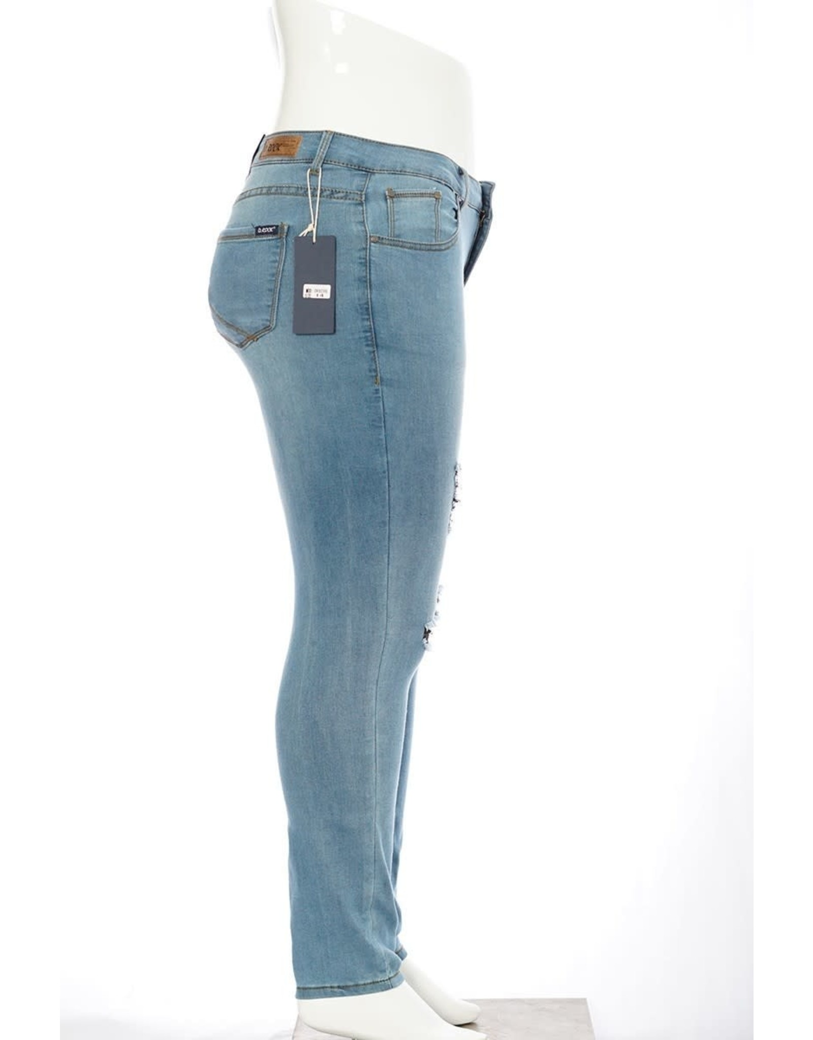 D. Rock Soft Denim Distressed Jeans