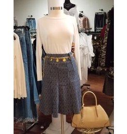 Blue Trumpet Skirt