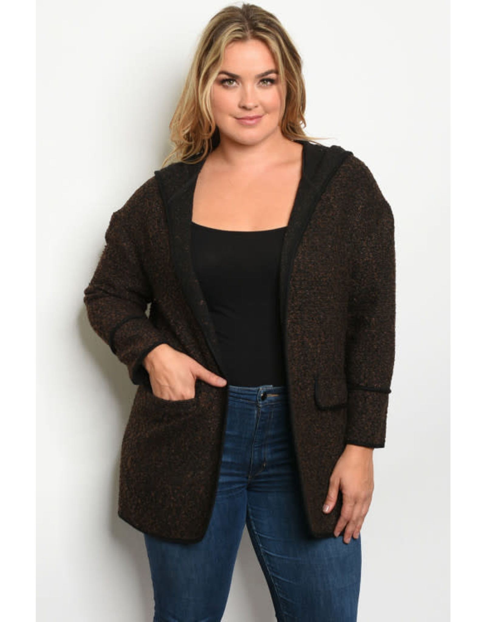 Clothing Obessed Company Brown Plus Jacket