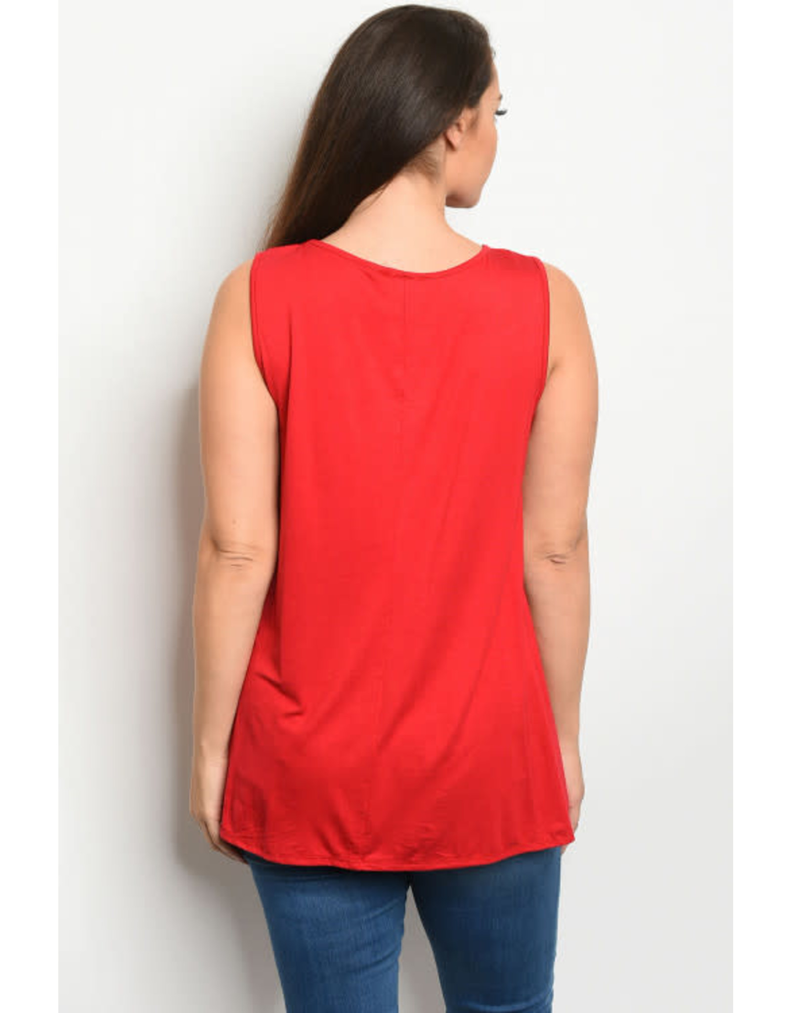 Plus Size Tunic Tank Top