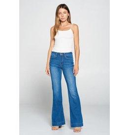 Black Label High Waist Flare Jeans
