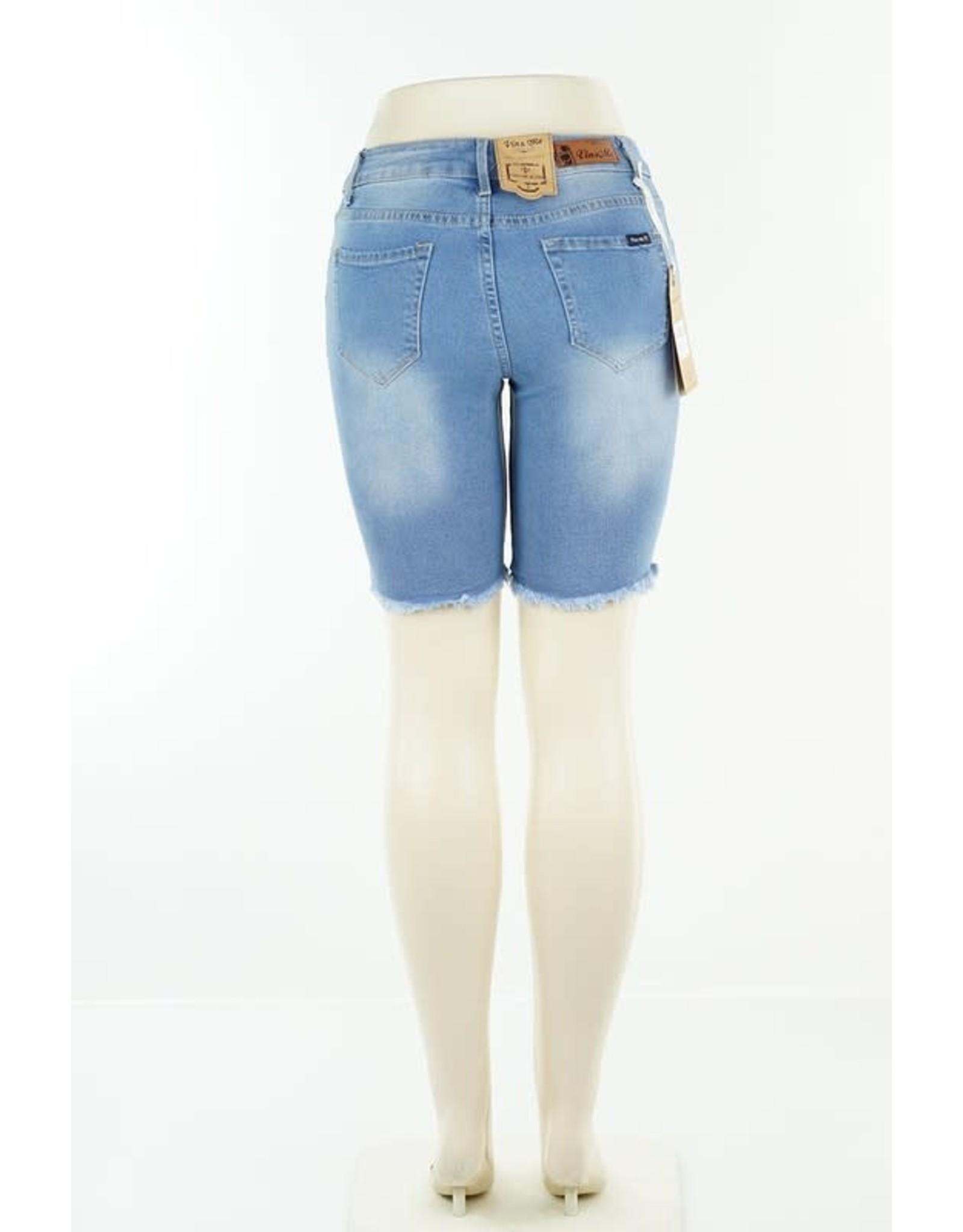 Denim Blue Bermuda Shorts