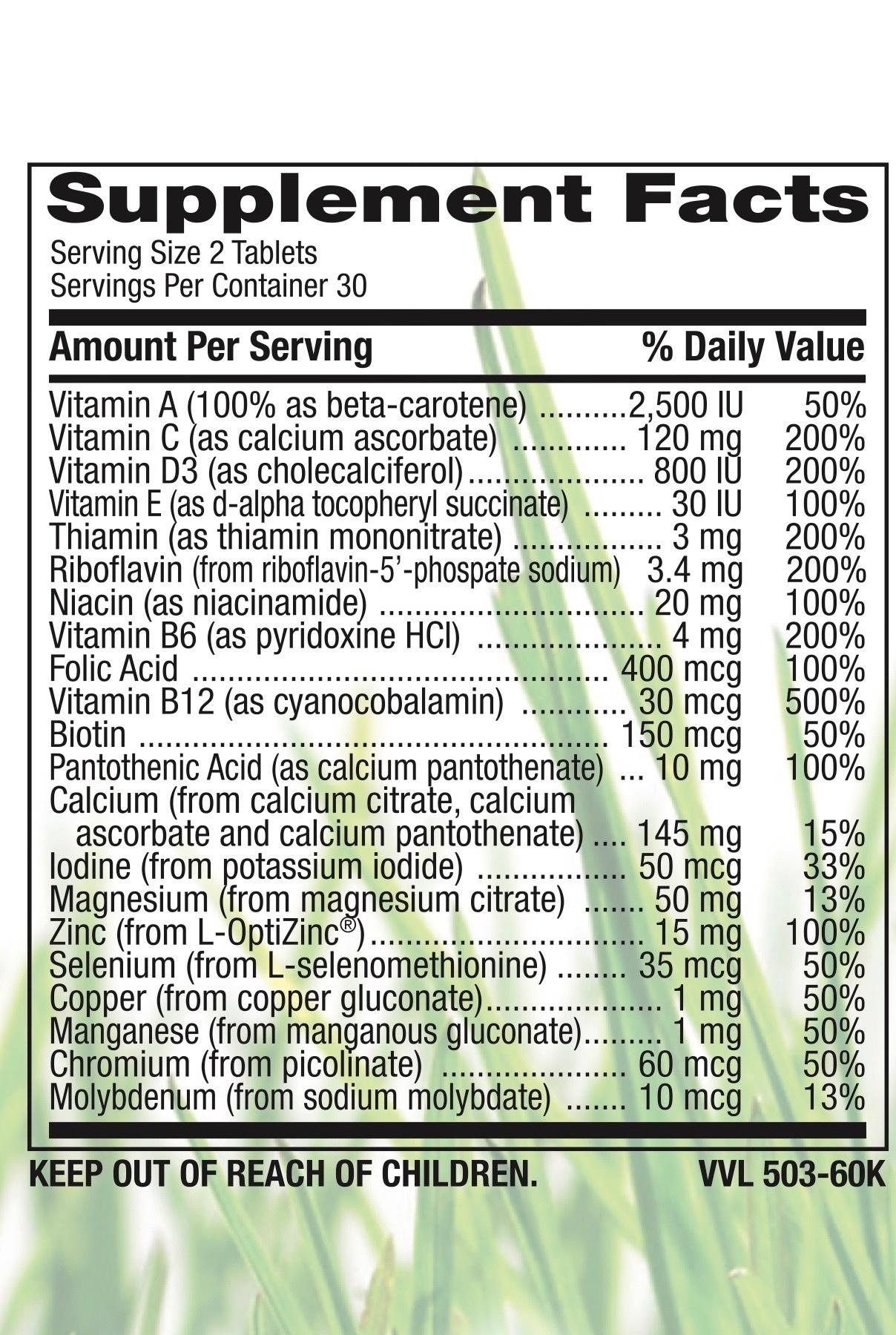 Healthy Aging Multi Vitamin-2