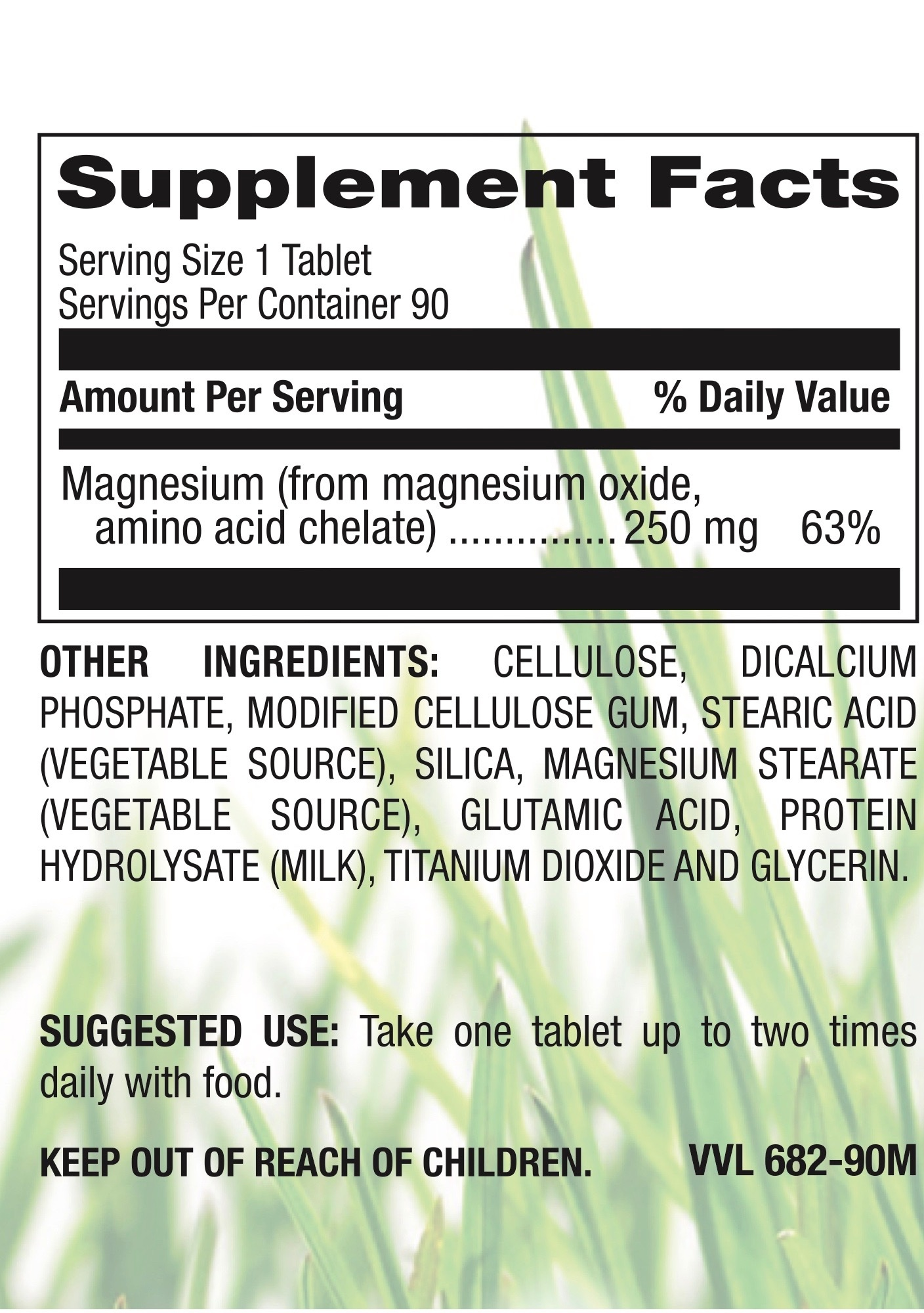 Chelated Magnesium 250mg-2