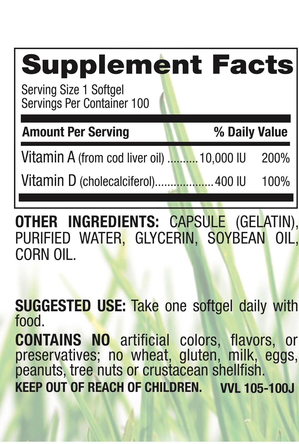 Vitamin A & D 10,000 & 400 IU-2