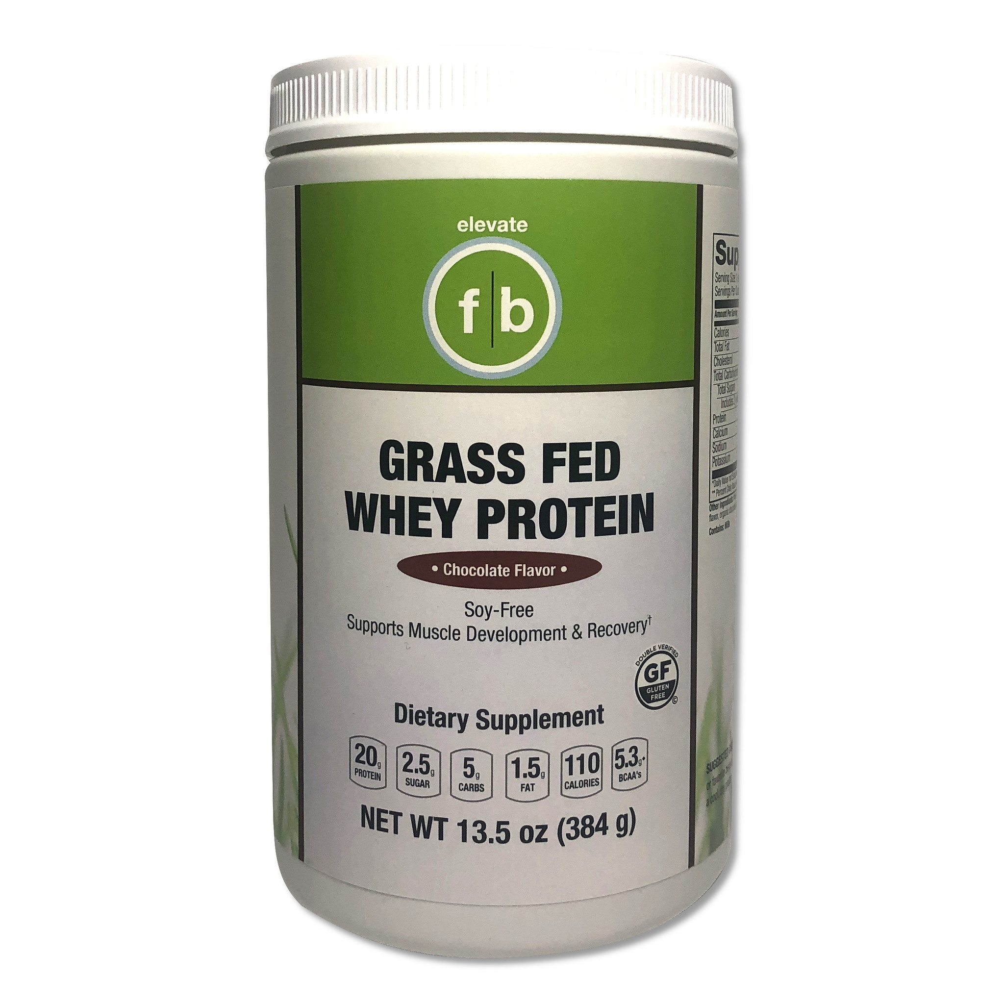 Grass Fed Whey Protein Chocolate-1