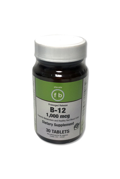 B-12 1000MCG PROLONGED RELEASE