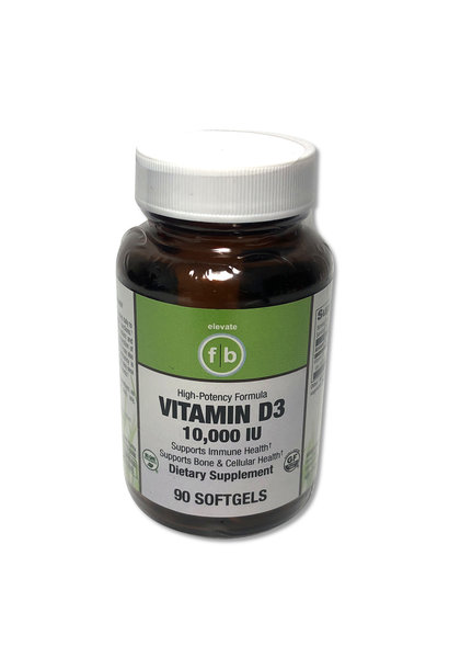 FLATBELLY VITAMIN D-3 10,000