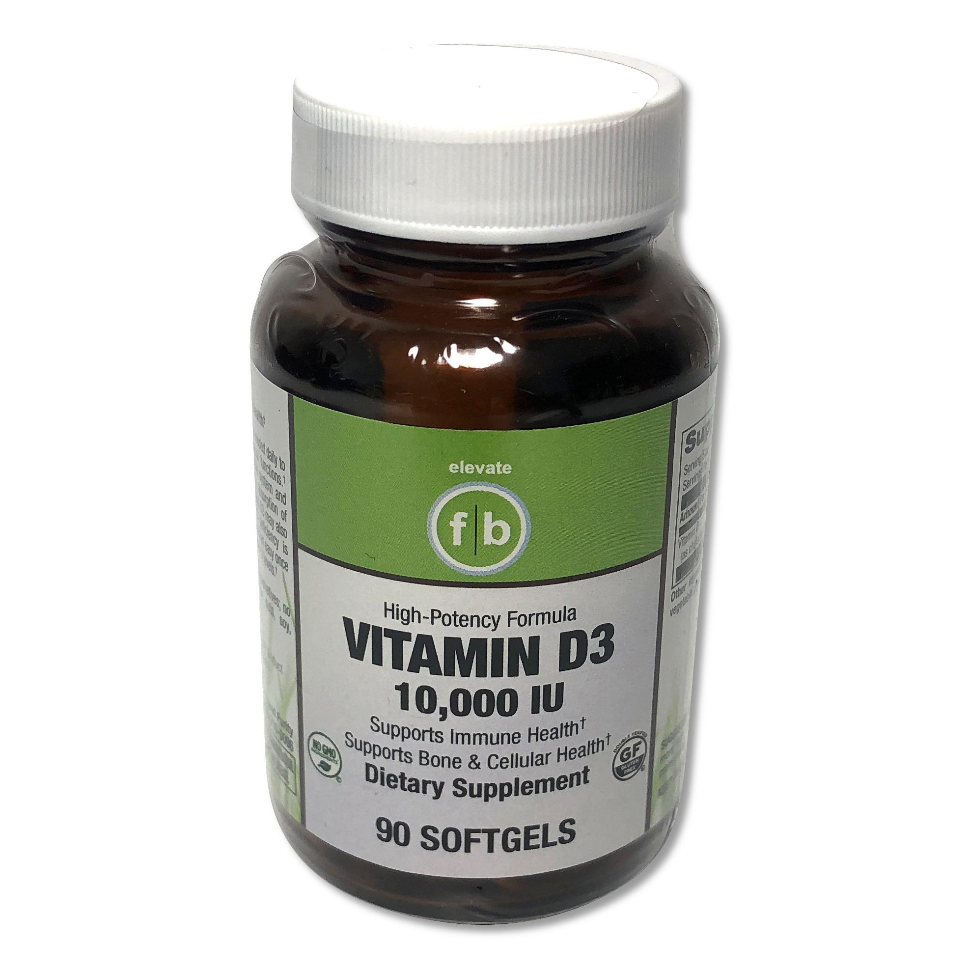 Vitamin D3 10,000-1
