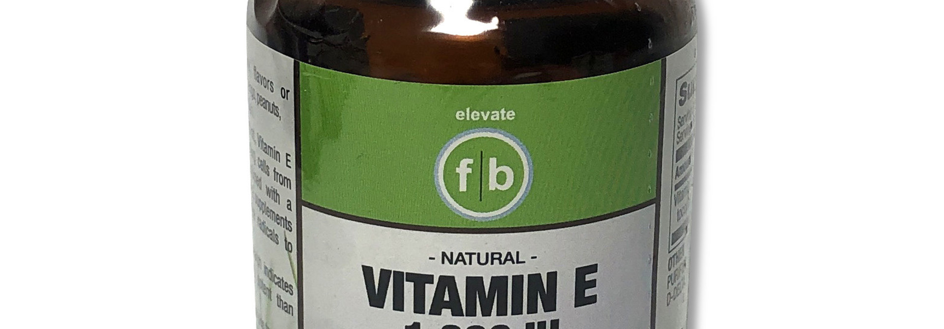 Vitamin E 1000IU 30 Softgels