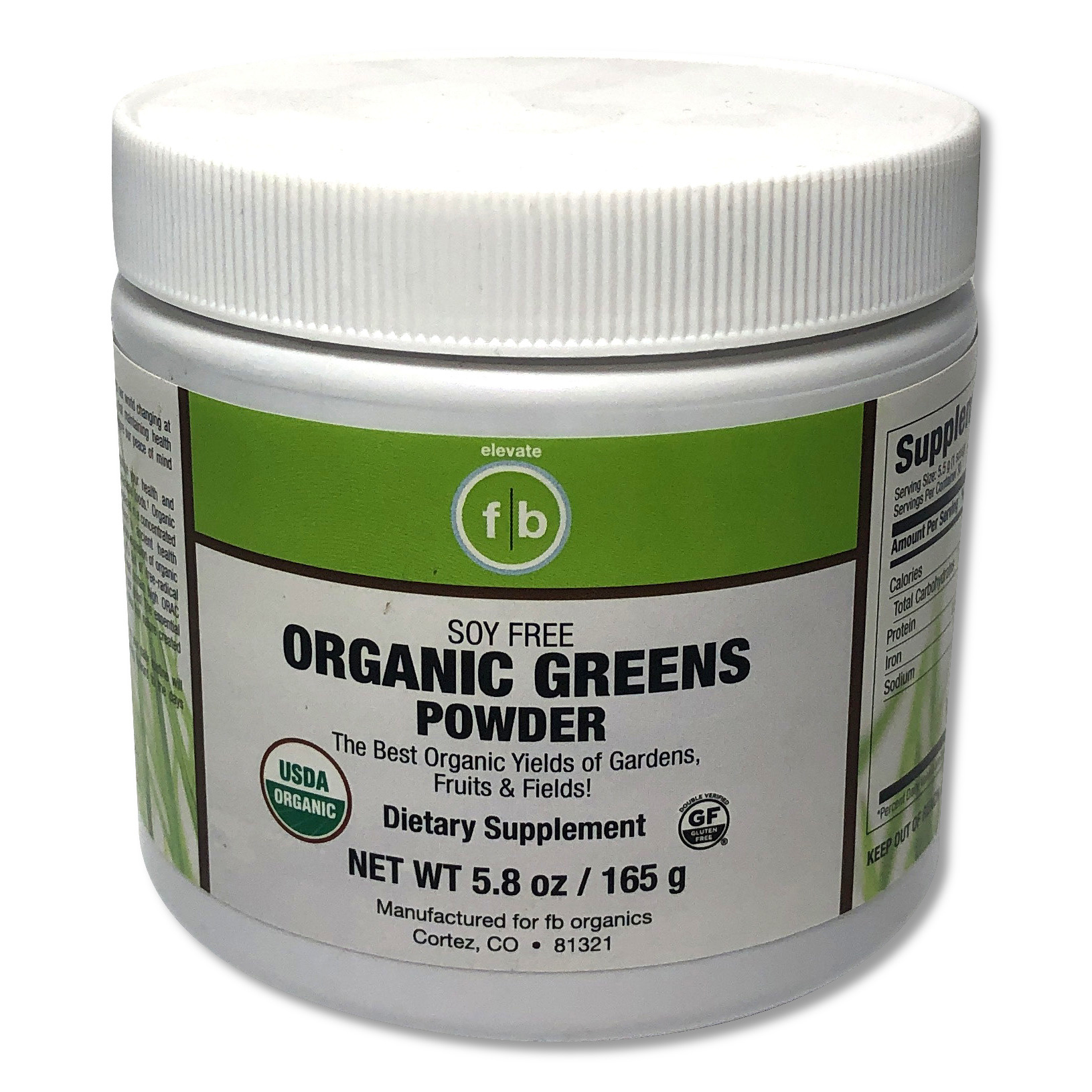 Organic Greens Powder-1