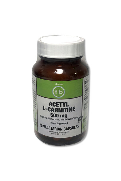 Acetyl L-Carnitine 500mg
