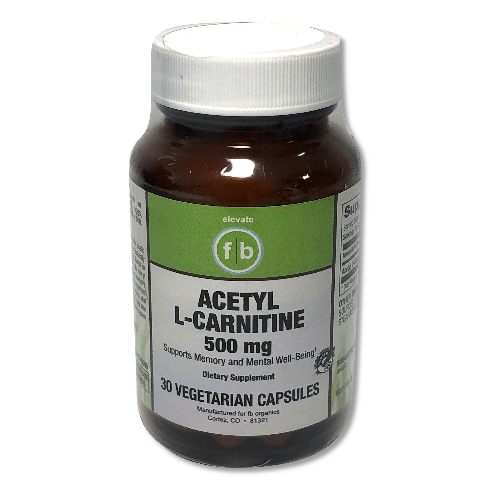 Acetyl L-Carnitine 500mg-1