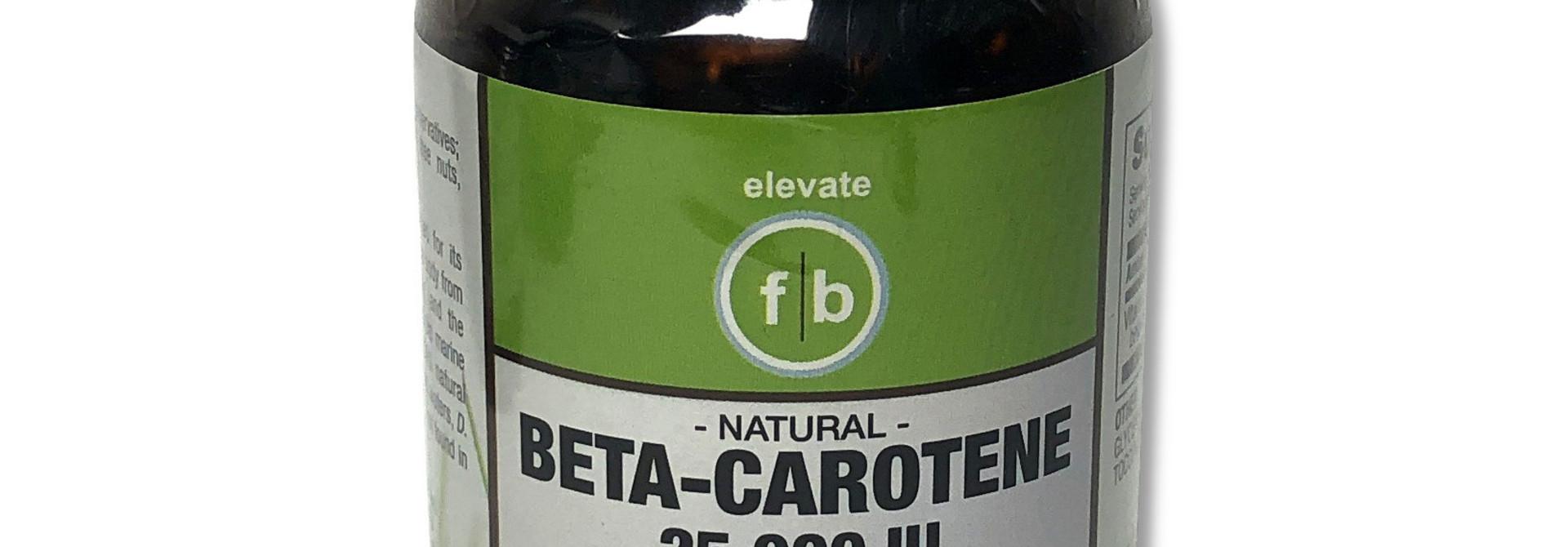 Beta-Carotene 25,000 IU