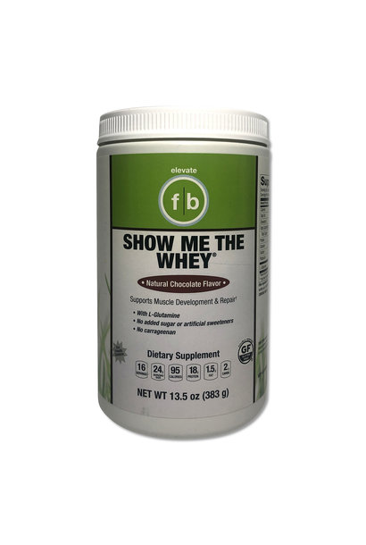 Show Me The Whey Chocolate Protein Powder