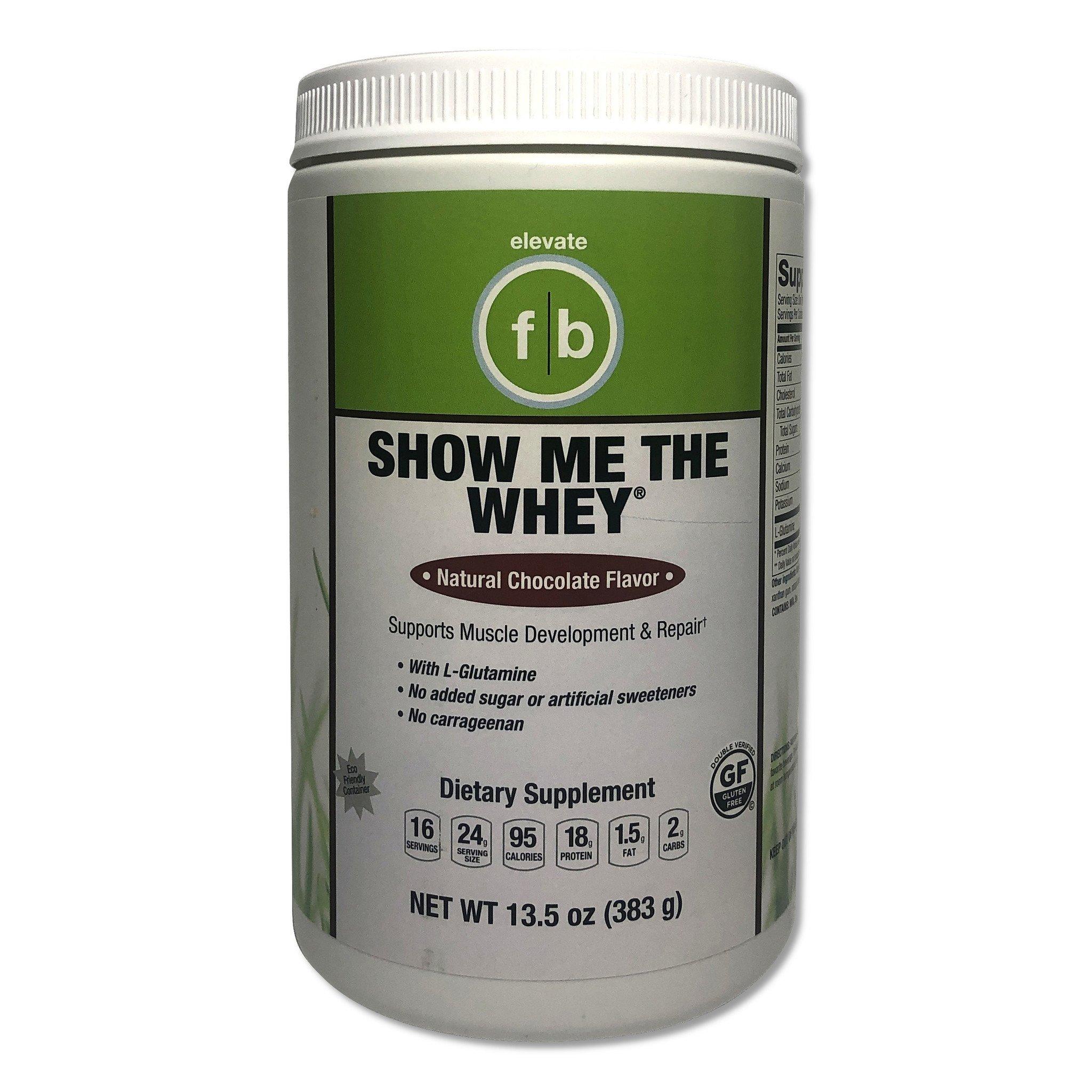 Show Me The Whey Chocolate Protein Powder-1