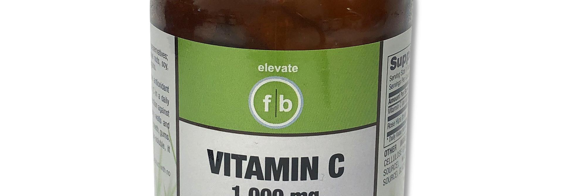 Vitamin C Plus Rose Hips 1,000mg
