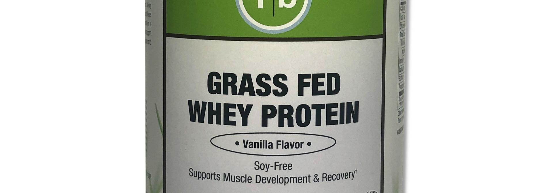 Grass Fed Whey Vanilla