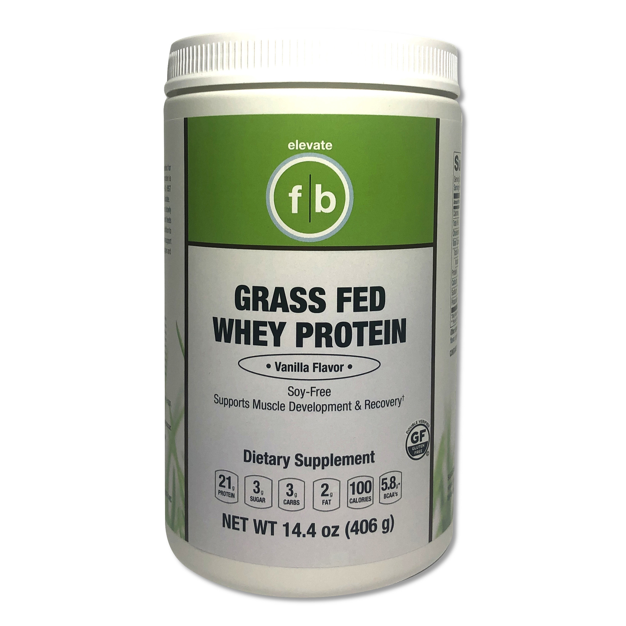 Grass Fed Whey Vanilla-1