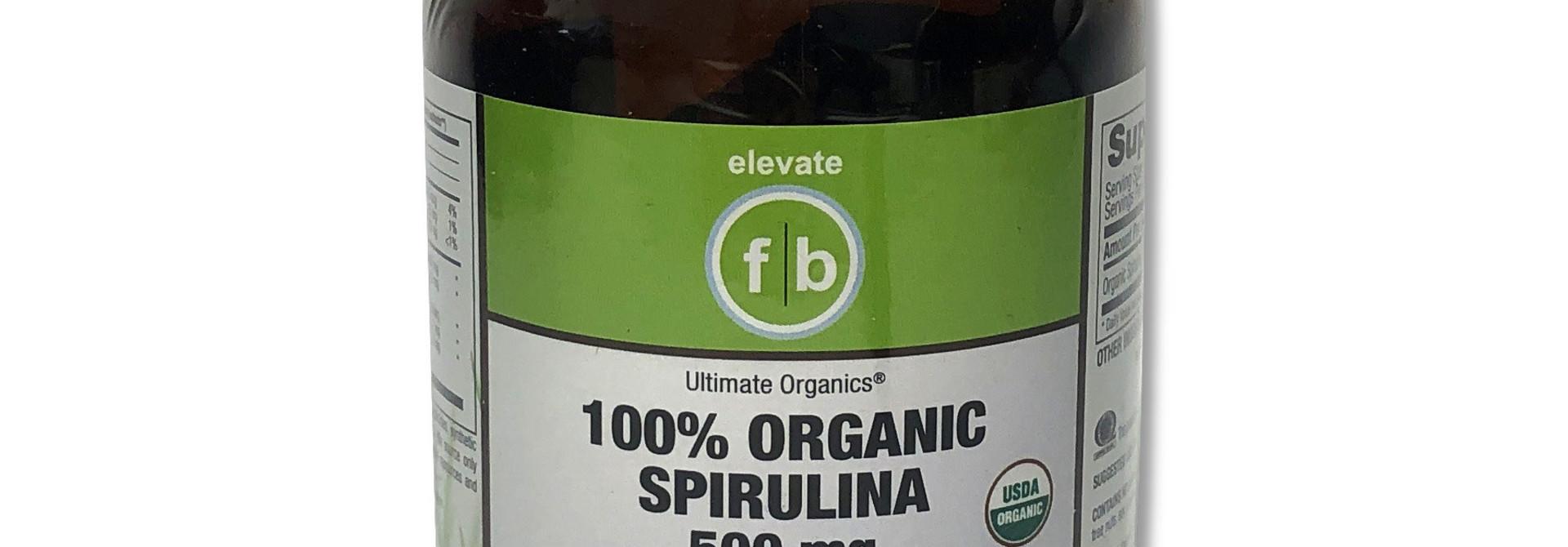 Organic Spirulina 500 mg